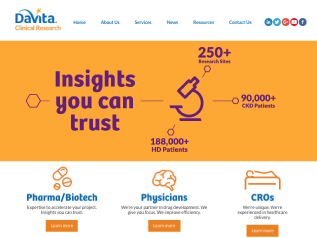 davita-clinical-research-website